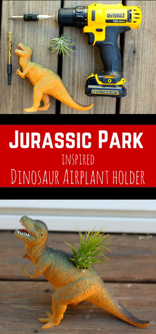 Jurassic Park Inspired Dinosaur Air Plant Holder