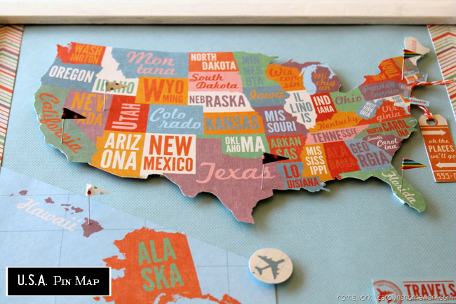 11 Diy Map Craft Projects Weekend Craft