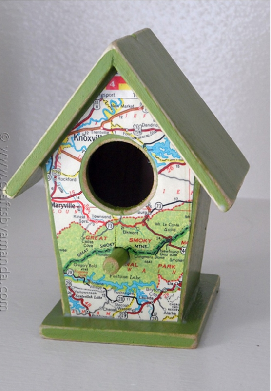 Road Map Bird Houses