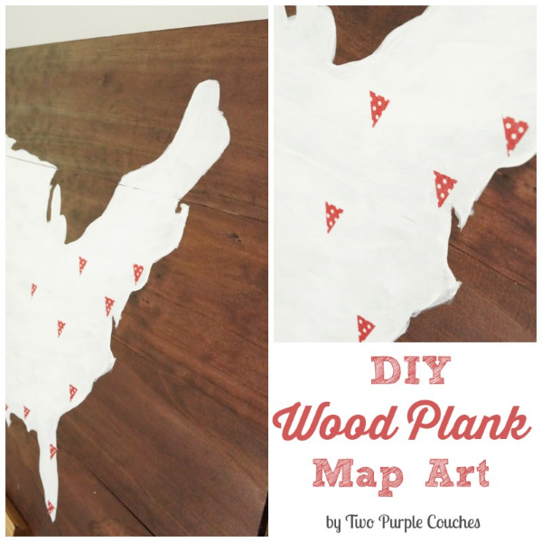 diy wood plank art