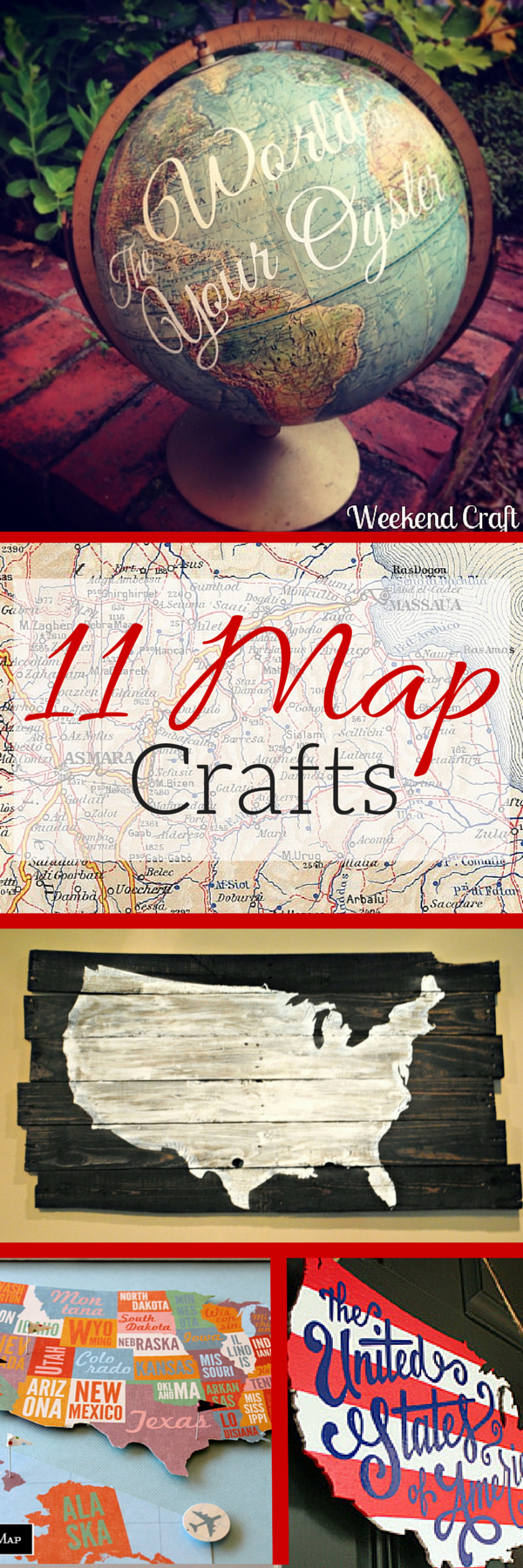 11 Map Crafts