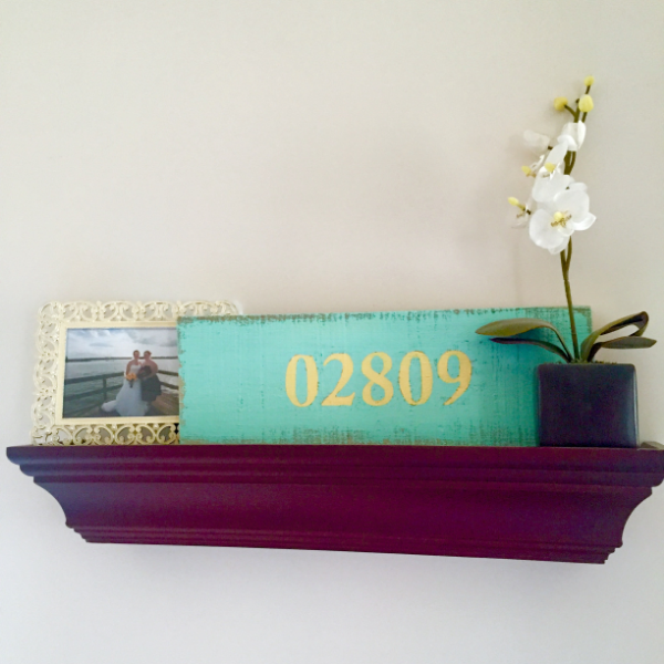 DIY Zip Code Pallet Sign