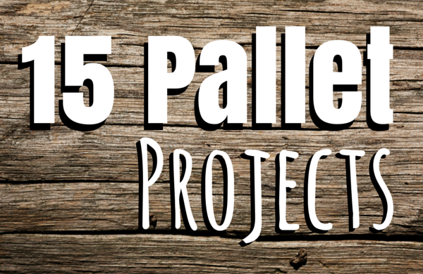 15 DIY pallet projects