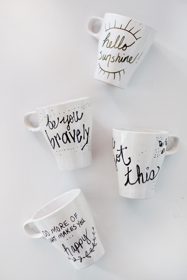 DIY Painted Inspiration Mug
