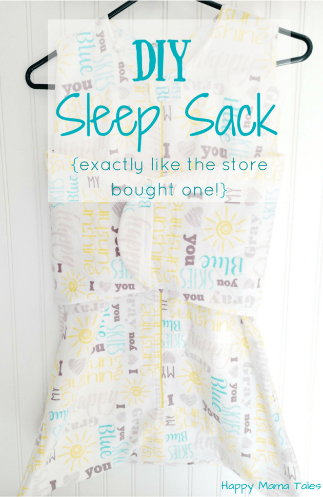 DIY Sleep Sack