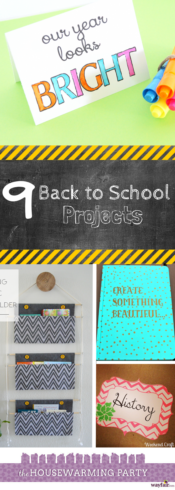 9 Back to School Projects