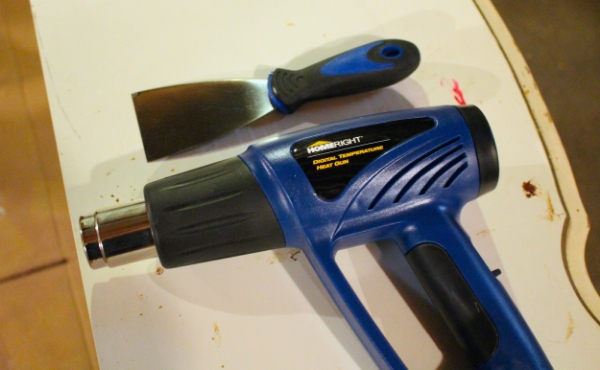 How to remove gunk from furniture before painting homeright for Heat guns for crafts