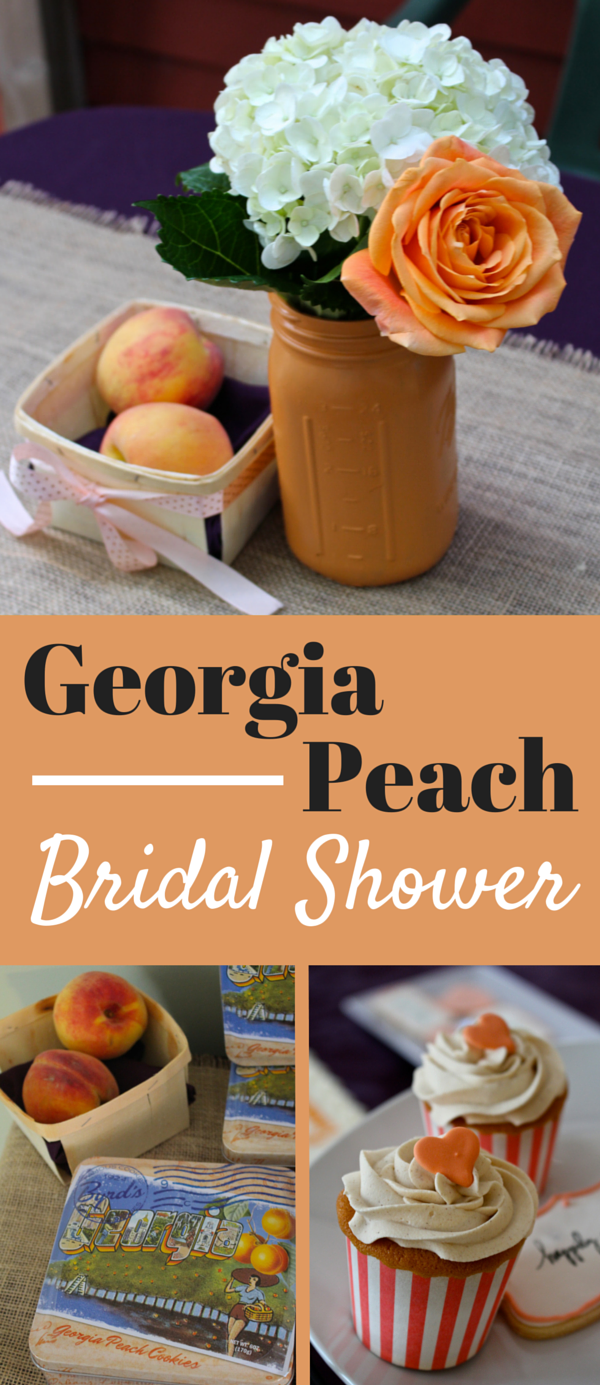Georgia Peach Bridal Shower