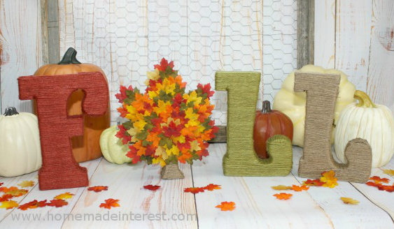 Fall Crafts And DIY Projects Weekend Craft