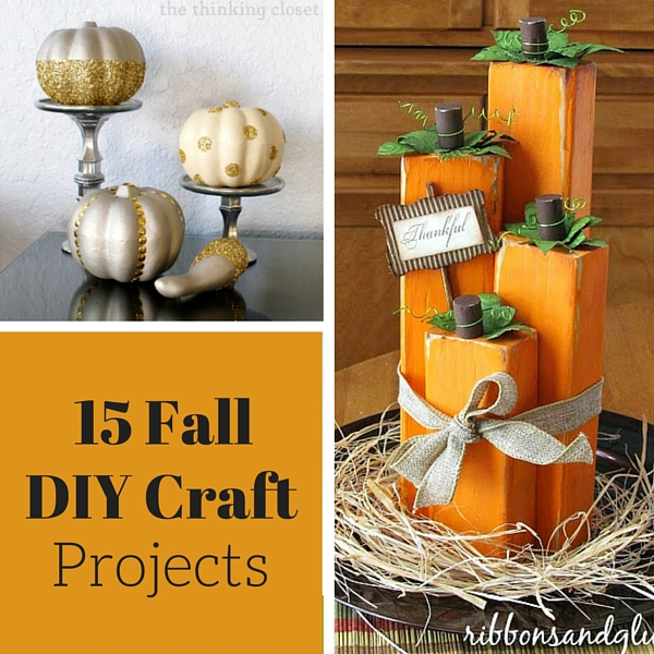 Fall crafts and diy projects weekend craft for Easy diy fall crafts