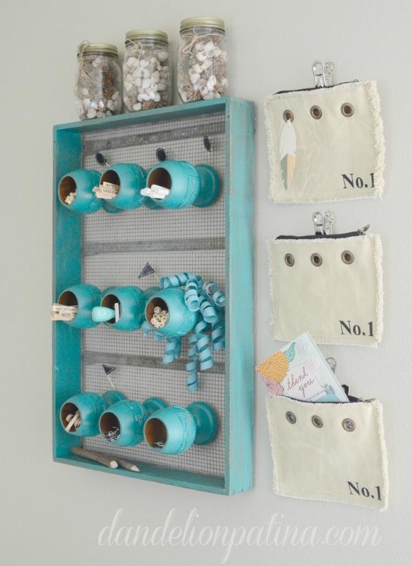 aqua home organizer