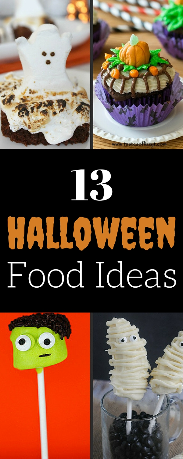 13 Halloween Food Ideas and Recipes