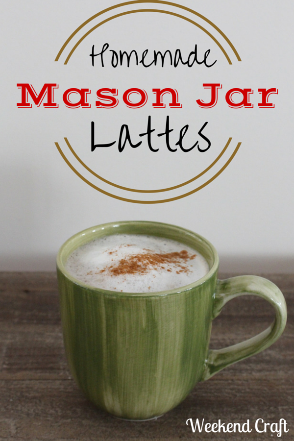 mason jar lattes