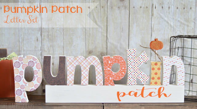 Pumpkin Patch Letter Set