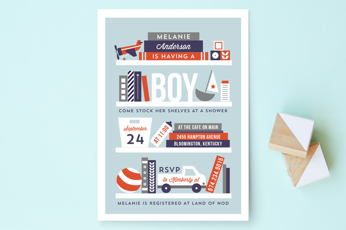 More Baby Shower Invitations From Minted