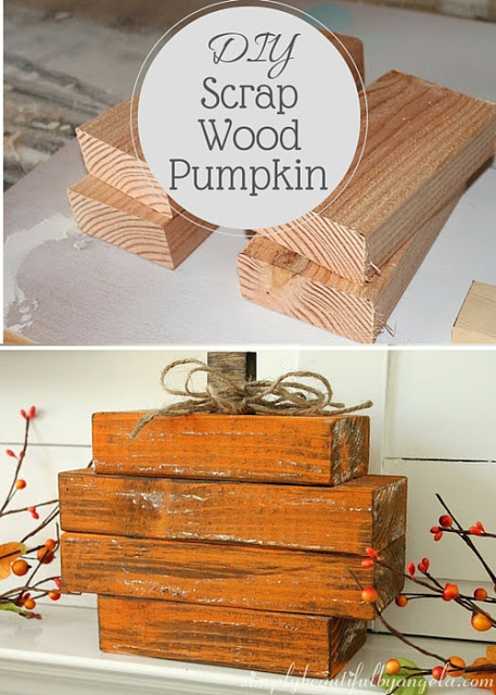 Scrapwood pumpkin