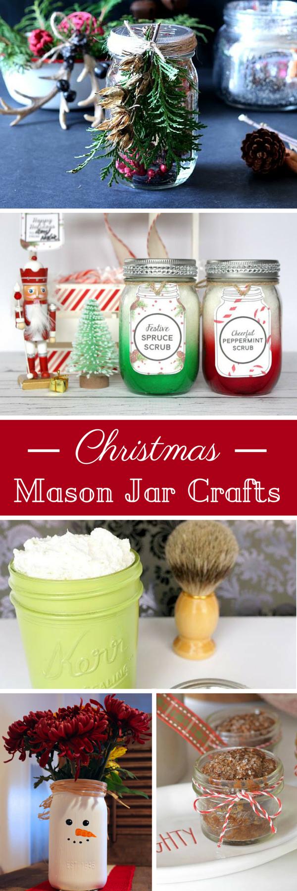 DIY Christmas Mason Jar Crafts