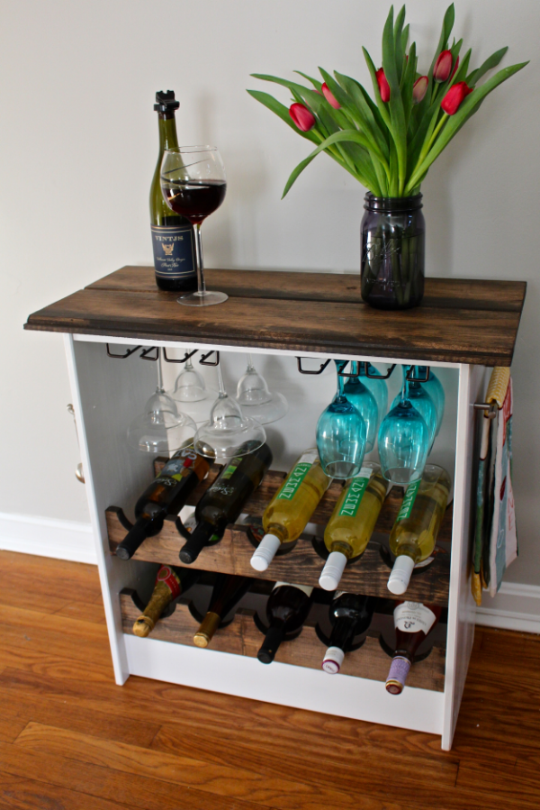 ike hack wine rack