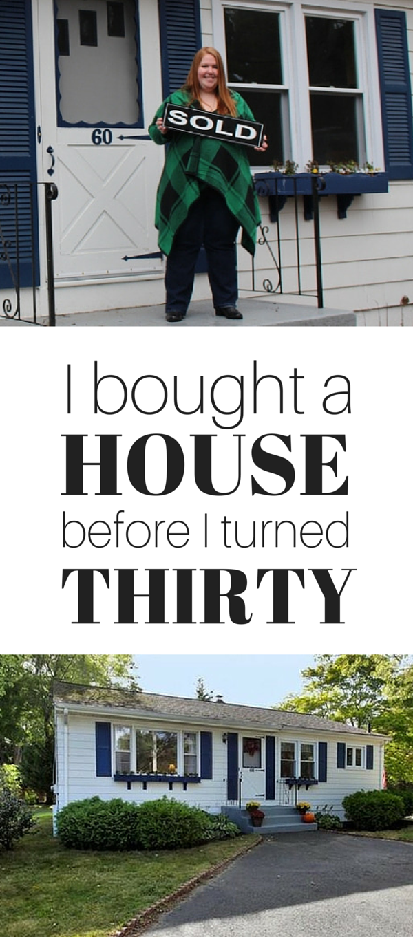 I bought a house