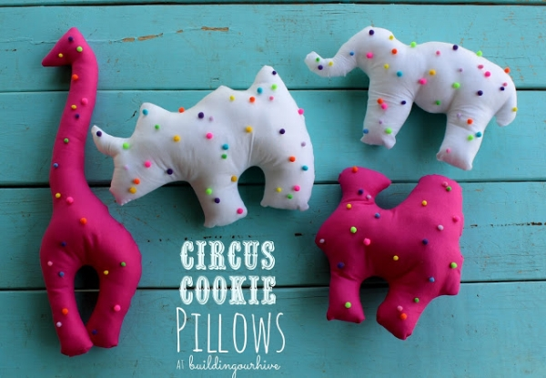 Circus Cookie Pillows
