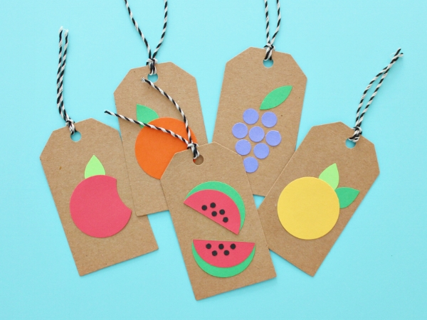 Cutie Fruity Gift Tags