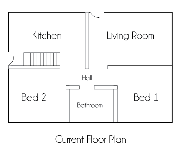 Current Floor Plan
