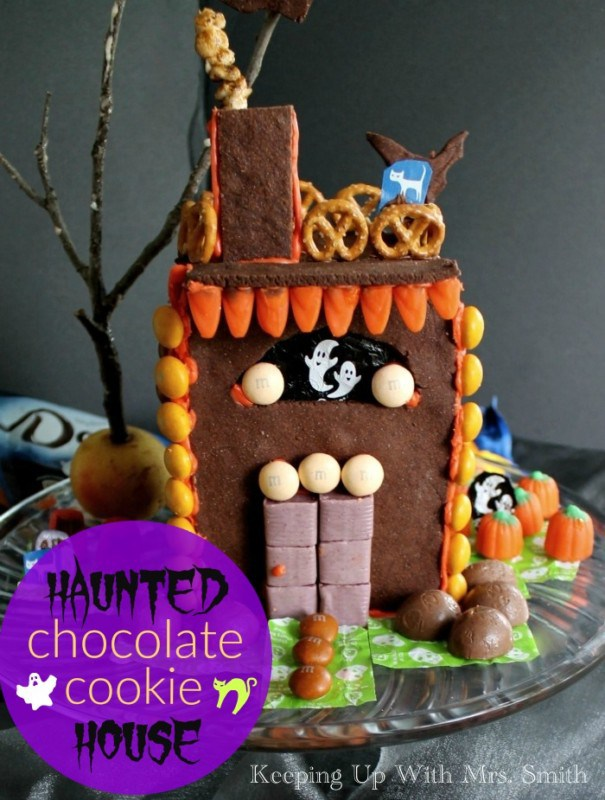 Haunted Chocolate Cookie House