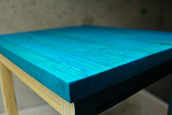 How to Dye wood table top