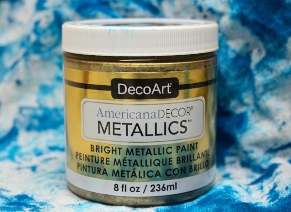 DecoArt Metallics paint