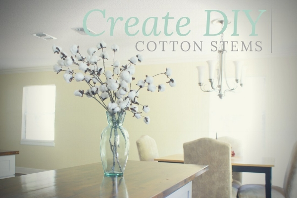 DIY Cotton Stems