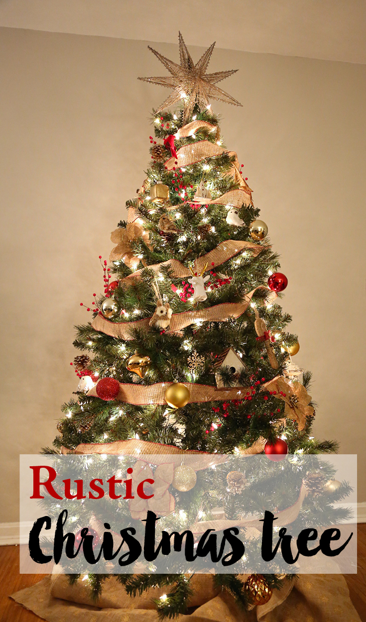 Rustic Christmas Tree from Weekend Craft