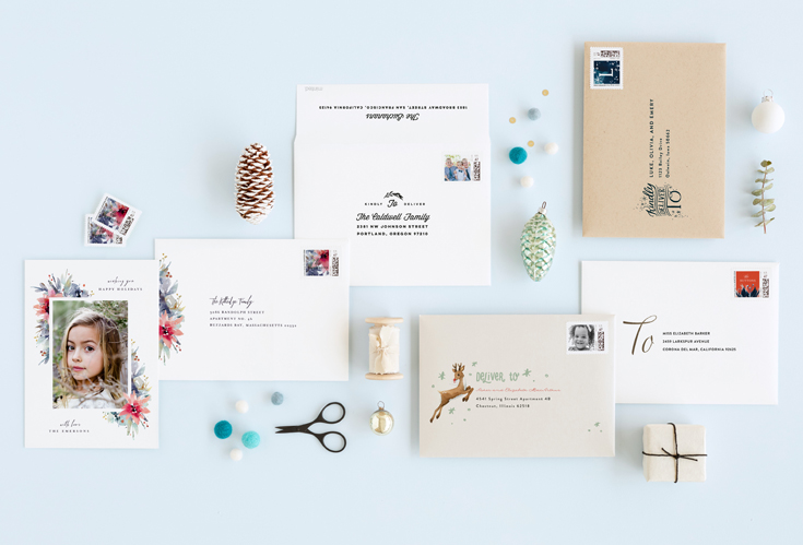 Minted Envelopes