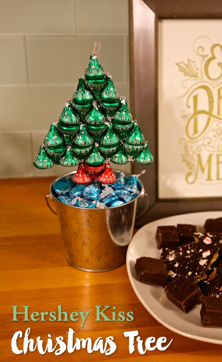 Diy Hersheys Kisses Christmas Tree Weekend Craft