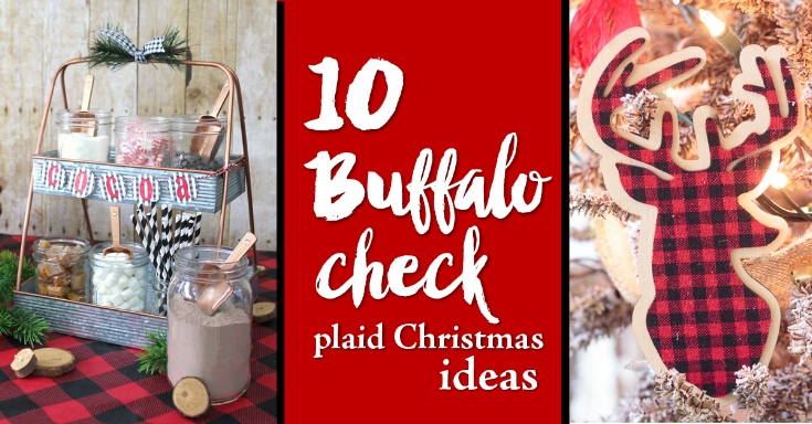 10 Buffalo check plaid christmas ideas