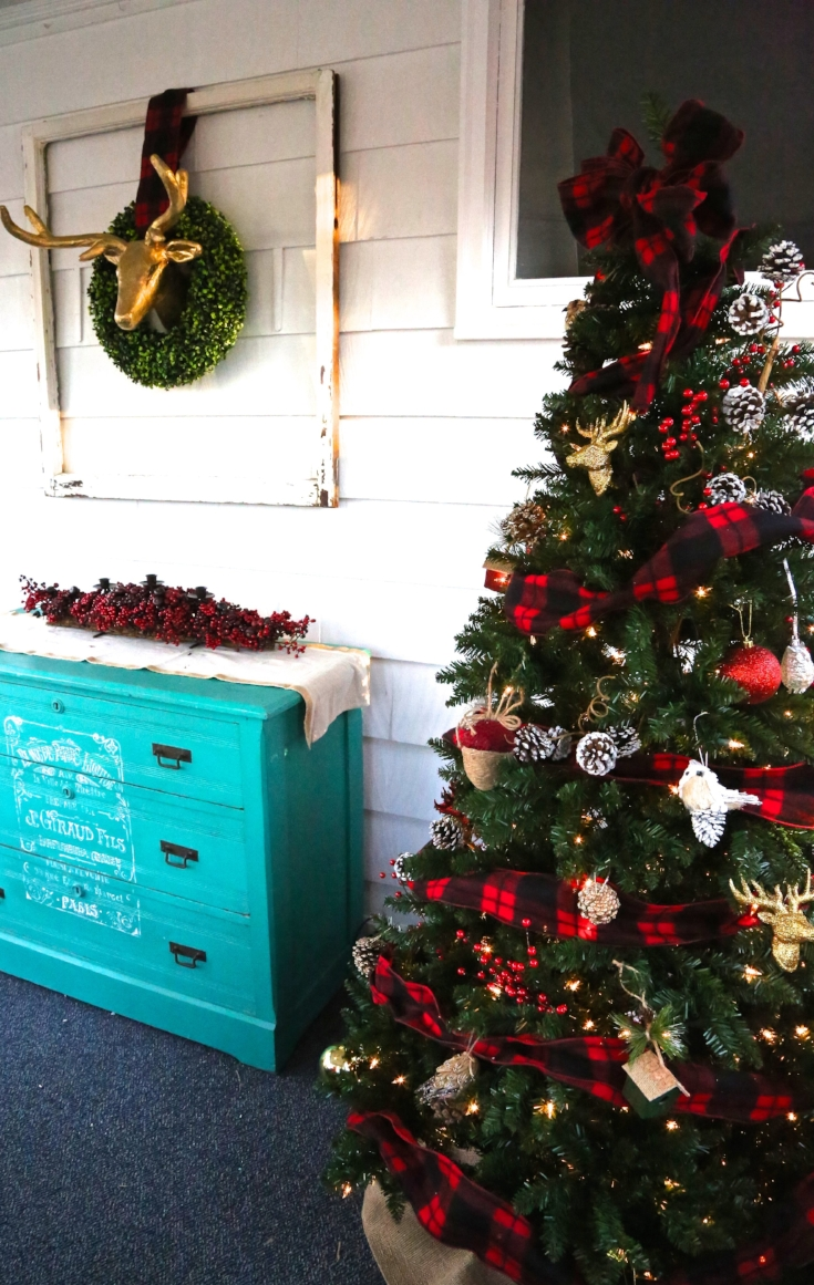 Porch Christmas Trees