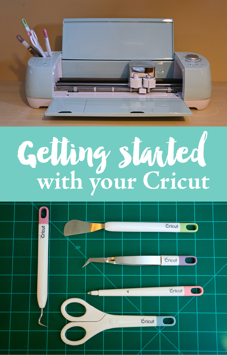 Getting started with your Cricut. A beginners guide to using your Cricut.