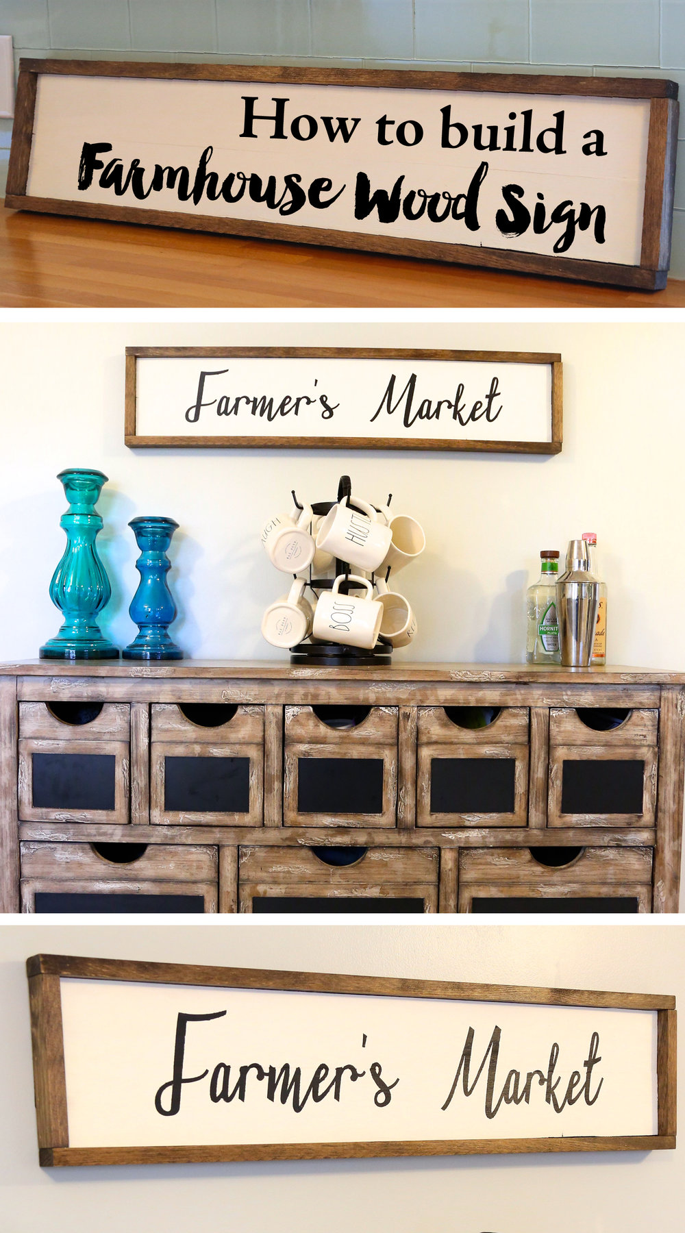 How to build a farmhouse wood sign