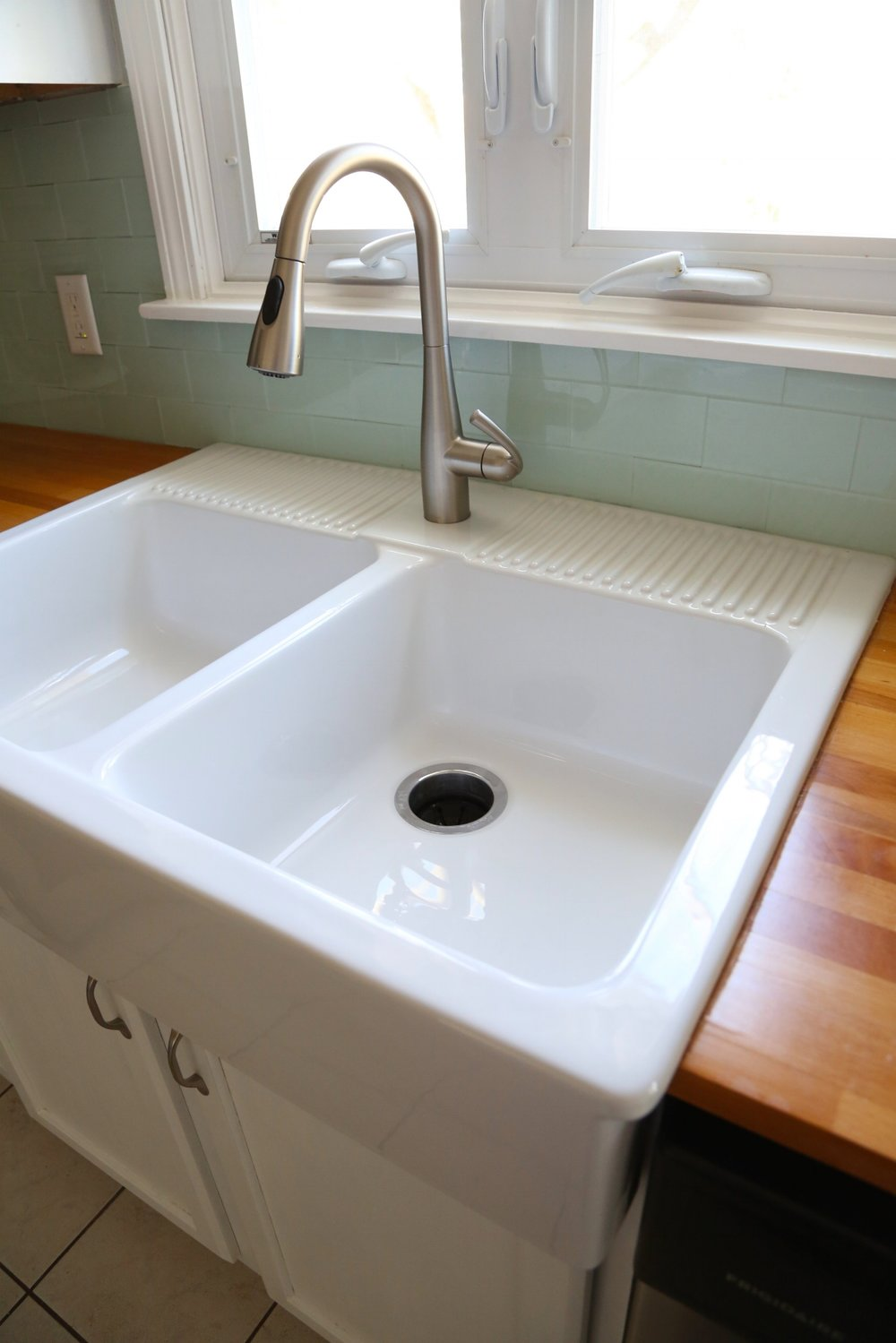 Installing an Ikea farmhouse sink — Weekend Craft