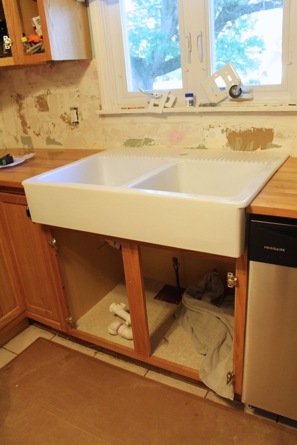 Domsjo ikea farmhouse sink
