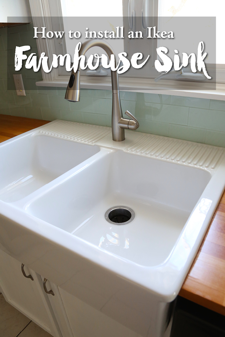 Merveilleux How To Install An Ikea Farmhouse Sink
