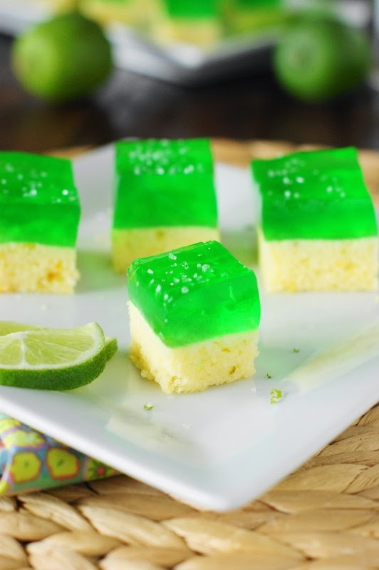 Margarita Cake Jello Shots