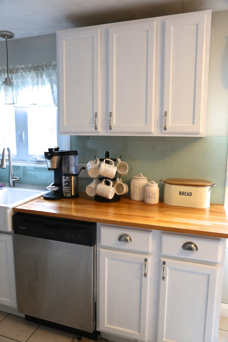 Adding crown molding to your kitchen cabinets. — Weekend Craft