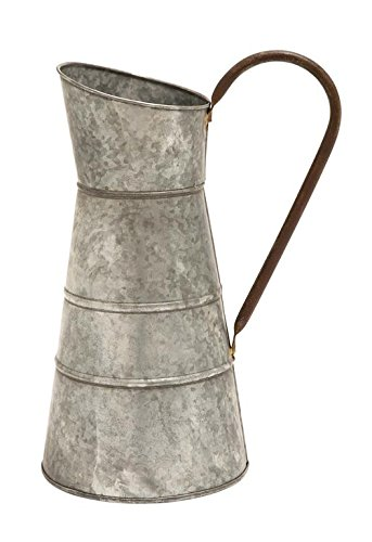 galvanized water pitcher