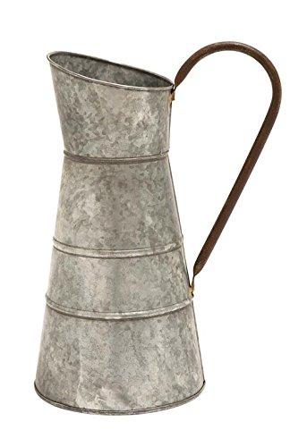 galvanized water pitcher