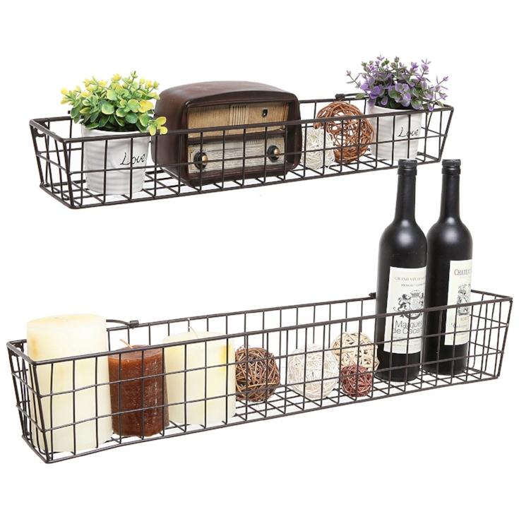 Metal Wire Storage Baskets