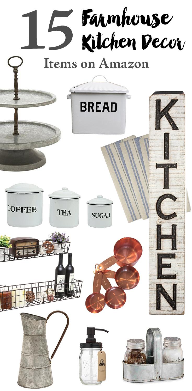 15 Farmhouse Kitchen Decor Items on Amazon