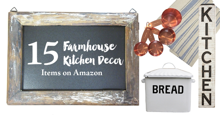 15 Farmhouse Kitchen Decor Items on Amazon