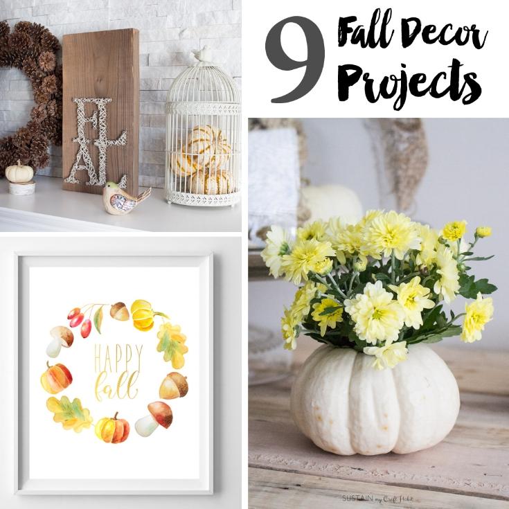 9 Fall Decor Projects Sq.jpg