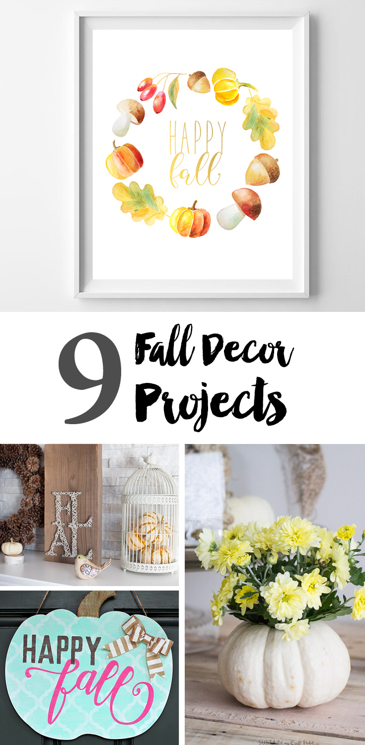 9 Fall Decor Projects