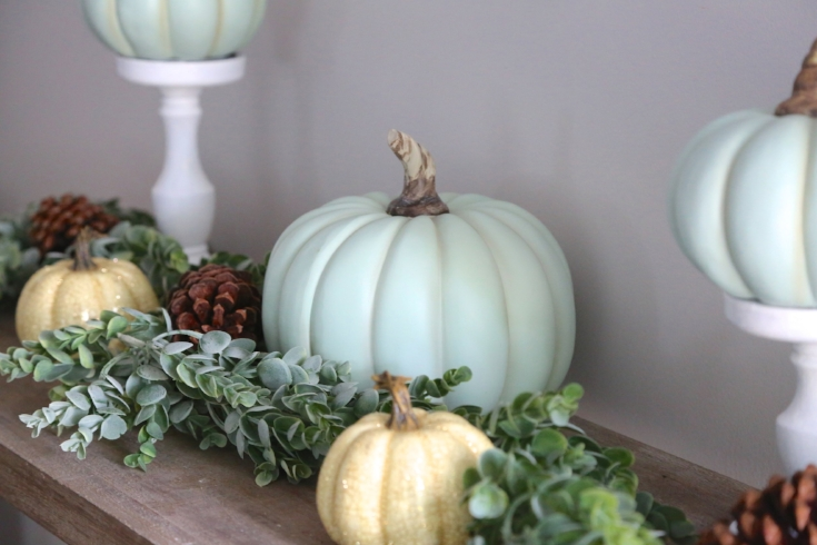 Teal Fall Farmhouse Decor 3